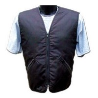 Men's Black Motorcyclist Cooling Vest