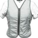 Ladies Cooling Vest Santa Fe Silver