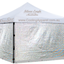 Silver Sun Shade Mesh Trolley Surround | Silver Eagle Australia